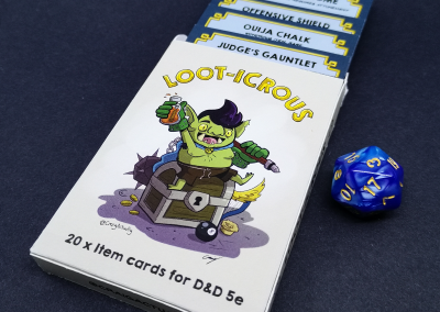 Loot-icrous cards